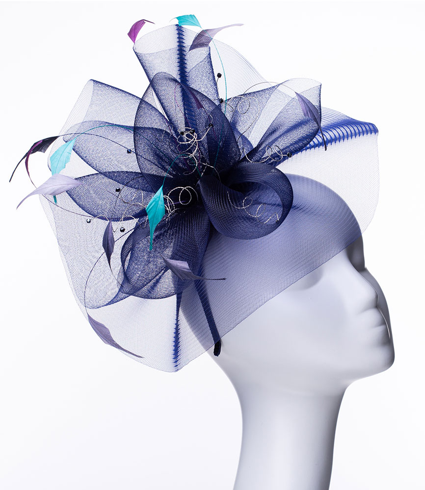 8e0238e9 Blues and Purples | Love Lupin : Hats, Fascinators and Accessories ...